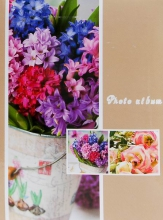 Fotoalbum 9x13 pre 100 fotiek Flower twinkle 2 béžový
