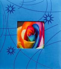 Klasické fotoalbum 100 strán Colorful modrý