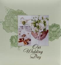 Album pre 200 fotiek 10x15   Wedding P-6 zelený