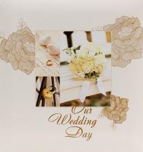 Album pre 200 fotiek 10x15   Wedding P-6 krémové