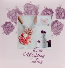 Album pre 200 fotiek 10x15   Wedding P-6 ružové