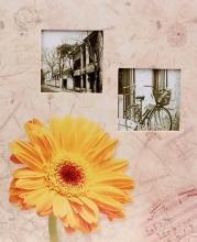 SAMOLEPIACE album 60 strán Vellum  3 žltá gerbera
