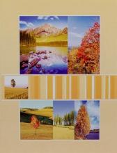 Fotoalbum 9x13 pre 200 fotiek Midland žlté