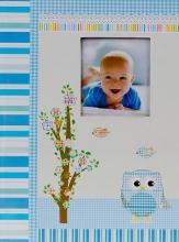 Fotoalbum 10x15 pre 300 fotografií Owlet modrý