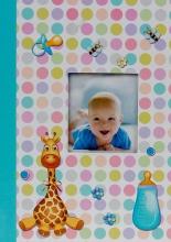 Fotoalbum 10x15 pre 300 fotografií Bee modré