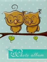 Fotoalbum 10x15 pre 200 fotiek OWL 1 zelené