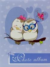 Fotoalbum 10x15 pre 200 fotiek OWL 3 fialové