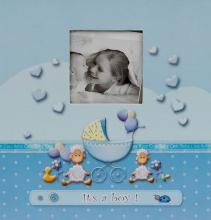 Album pre 200 fotiek 10x15 Lambkin modré