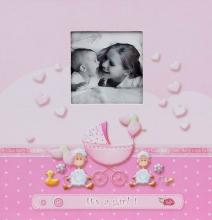 Album pre 200 fotiek 10x15 Lambkin ružové