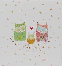 Klasické fotoalbum 60 stran   Owlfamily