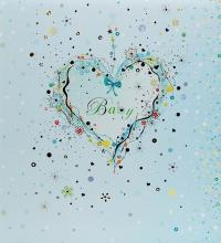 Klasické fotoalbum 60 strán  Blue heart