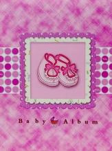 Samolepiace album 40 strán Step ružové