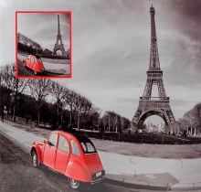 Fotoalbum 10x15 pre 500 fotiek Red 1 Eiffelovka