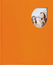 Klasické fotoalbum 80 strán Cumbia oranžový