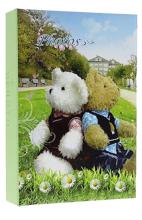 Album detské 10x15 pre 200 fotiek lepené Bears 3 zelené