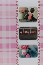Fotoalbum 10x15 pre 300 fotografií Sweet Heart vínové