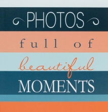 Klasické fotoalbum 100 strán  Moments