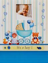 SAMOLEPIACE album 40 strán Snooze modrý