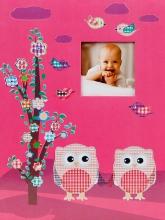 SAMOLEPIACE album 60 strán Owlet ružový