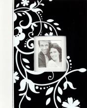 Svadobné fotoalbum 20 strán Decorative čierne