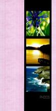 Album 10x15 pre 96 fotiek  Plant ružové