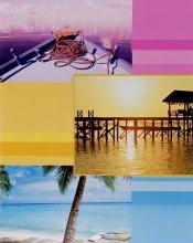 Fotoalbum 10x15 pre 200 fotiek Euphoric  fialové