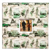Fotoalbum 10x15 pre 500 fotiek Loony zelený