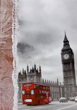Fotoalbum 9x13 pre 200 fotografií Double decker 3 Big Ben