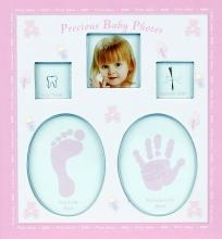 Album pre 200 fotiek 10x15 Baby 2 ružový
