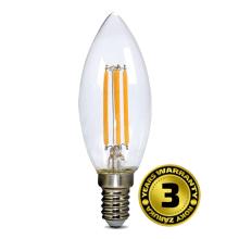 Solight LED žiarovka retro, sviečka 4W, E14, 3000K, 360 °, 440L WZ401