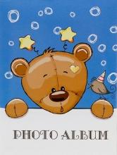 Mini album pre 100 fotiek 10x15 Wonder 1 modrý