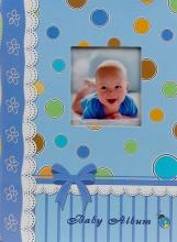 Fotoalbum 10x15 pre 300 fotografií Poppet modré