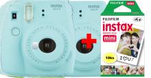fujifilm Instax Mini 9 - ice blue + 10ks instantného materiálu