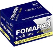 Foma FOMAPAN 100/36 čiernobiely