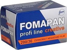 Foma FOMAPAN 200/36 čiernobiely