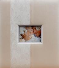 Svadobné fotoalbum 100 strán Heartbeat biele
