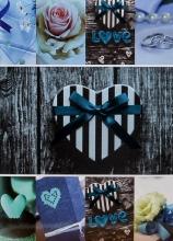 Fotoalbum 10x15 pro 300 fotografií JOY modré