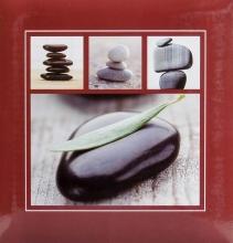 Klasické fotoalbum 60 strán Stone hnědý