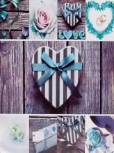 Fotoalbum 10x15 pre 200 fotografií Home Craft modré