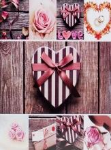 Fotoalbum 10x15 pre 200 fotografií Home Craft ružové