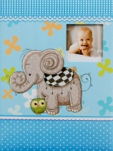 SAMOLEPIACE album 40 strán Zoo modrý