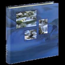 Klasické fotoalbum 100 strán Singo modré