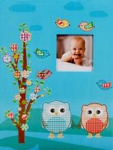 SAMOLEPIACE album 40 strán Owlet 1 modré