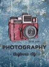 Mini album pre 100 fotiek 10x15 Snap 2 blue