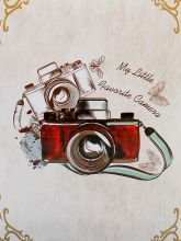 Mini album pre 100 fotiek 10x15 Snap 1 yellow