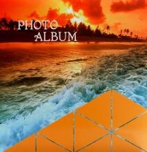 Fotoalbum 10x15 pre 500 fotiek Balance oranžový