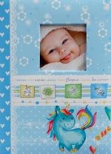 Fotoalbum 10x15 pre 300 fotografií Unicorn modrý