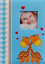 Fotoalbum 10x15 pre 300 fotografií Tickle modrý