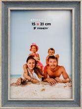 Fotorámček Malaga 10x15 šedomodrý