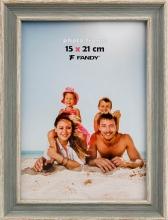 Fotorámček Malaga 15x21 šedozelený